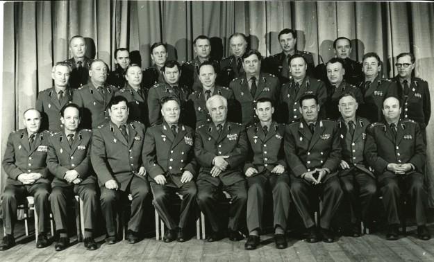 Командование училища 1980-1986 гг.