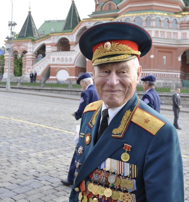 Михайлов В.М. на Красной площади